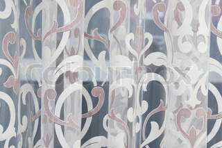 Background of Abstract curtains texture