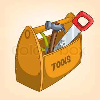 Cartoon Home Miscellaneous Tool Box