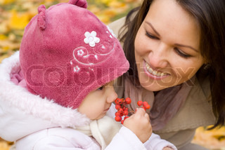 family with rowanberry