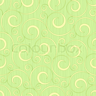 abstract light green floral seamless background