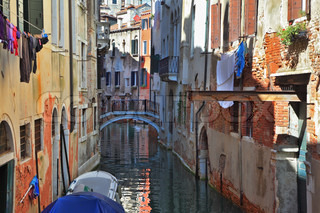 The Venice The laundry drying on clothesline