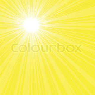 bright sun rays vector file
