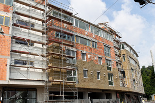 insulation in new residential building shell