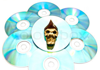 pirated copy of the disc