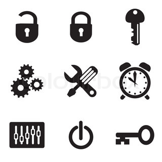 computer icons of parameters