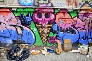 Monster Ice Cream / Berlin Street Art