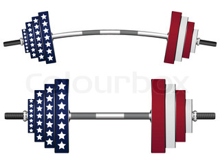 us flag weights