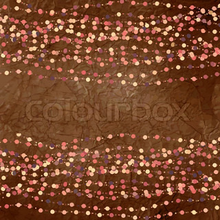 Vintage background with dots EPS 8
