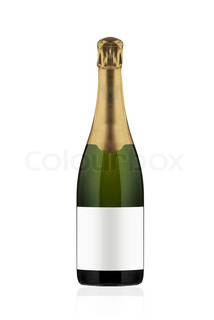 Flasche Champagner