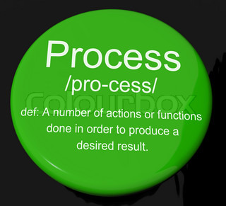 Process Definition Button Showing Result From Actions Or Functio