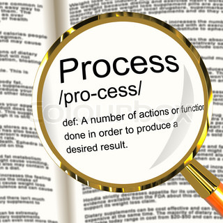 Process Definition Magnified Showing Result From Actions Or Func