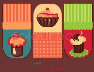 Vector of 'cake, cute, vector'
