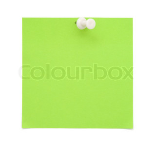 Green paper note