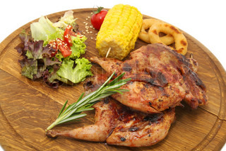 Image of 'Quail, Grilled, Fresh'