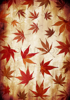 abstract grunge autumn background for multiple uses