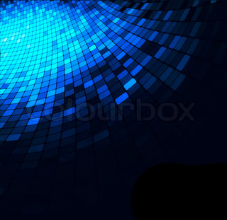 Geometric tech background. Creative background.