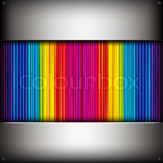 abstract background with colorful metallic pipes