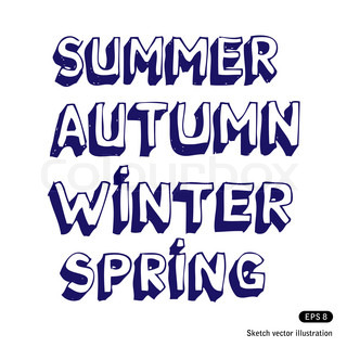 Seasonal fonts