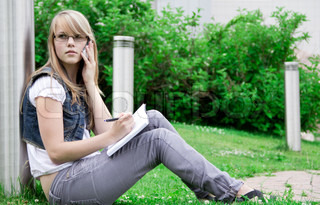 student at the University of background