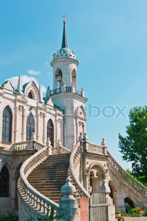 Ancient Church in Gothic Style