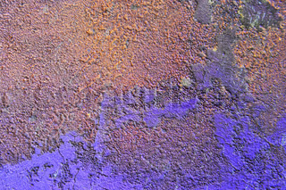 Grain textured lavender colored wall