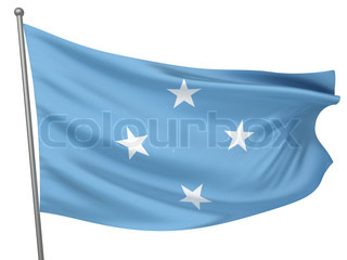 Micronesia, Federated States of National Flag