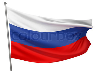 Russia National Flag