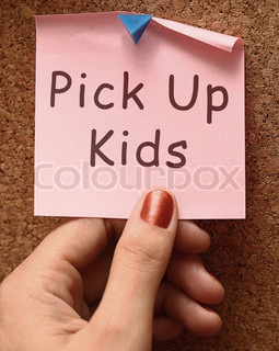 Pick Up Kids Message To Collect Children