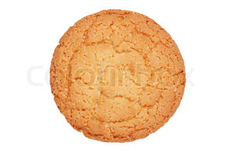 Appetizing round ruddy biscuits