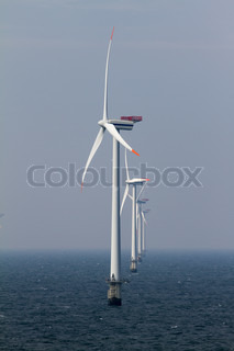 Image of 'windmill, offshore, power'