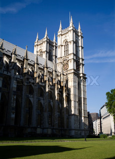 London - Westminster abbey from east