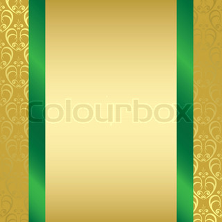Black Background With Golden Decorations And Decorative Card 4
