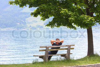 rest on the bench