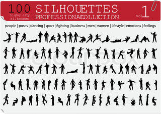100 Silhouettes Professional Collection Vol 1