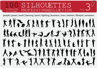 100 Silhouettes Professional Collection Vol 3