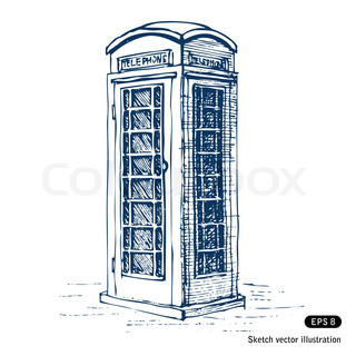 London-Münztelefon
