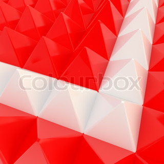 Abstract background made of pyramids