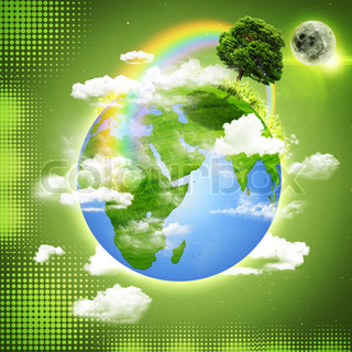 Green Earth Abstract natural backgrounds