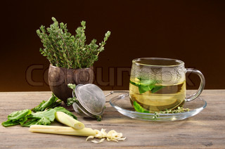 Medicinal herbs for tea
