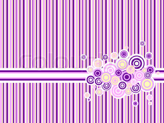 pink and purple backdrop with circle grunge ornament