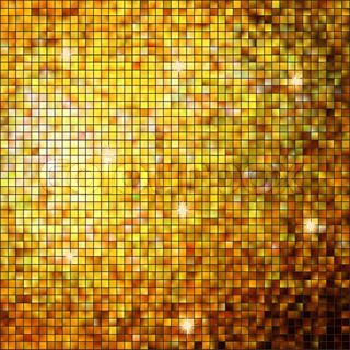 Gold mosaic background EPS 8