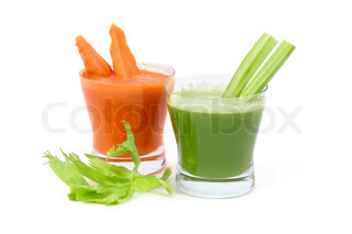 celery and carrot juice