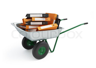 wheelbarrow folders