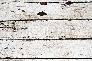 old white wooden textured background