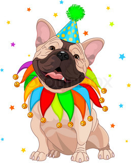 French bulldog's Birthday