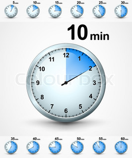 a 10 minute timer