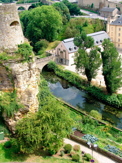 A street view of Luxembourg