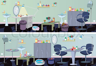 Beauty salonbanner furniture and appliances
