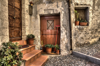 Ancient house Ventimiglia, Italy