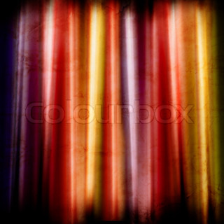 colorful stage curtain